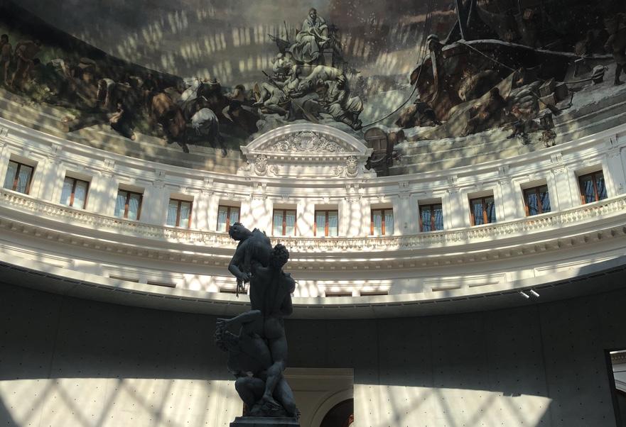 Visite de la Bourse de Commerce. Visite de la collection François Pinault.