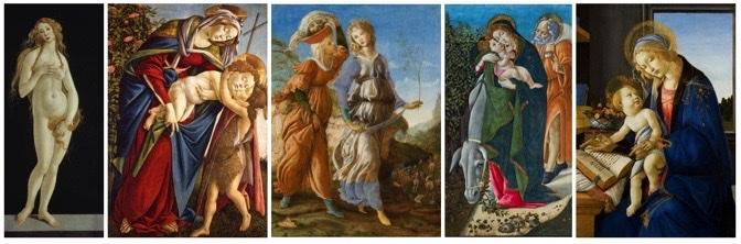 Sandro Botticelli, artiste et designer au musée Jacquemart andré. Visite guidée 1visit4you